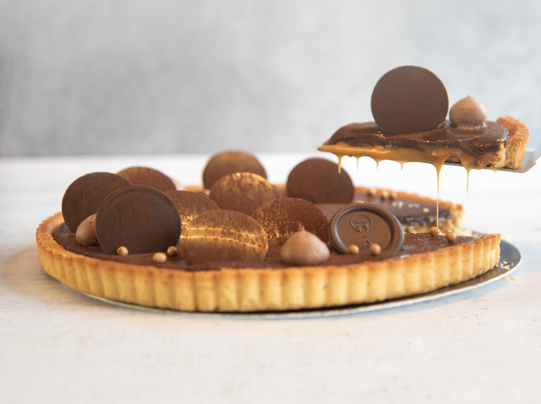 "Featured image for ""Tarta de caramelo con chocolate"""